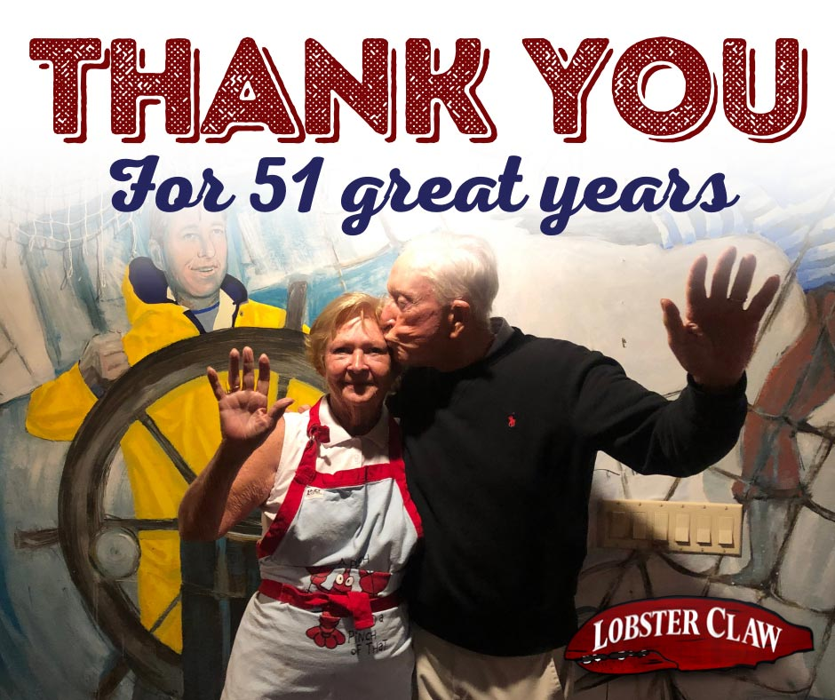 Thank you for 51 great years