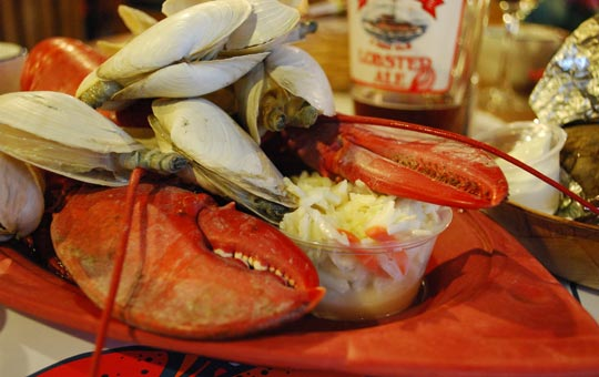 A Cape Cod Clambake with all the sides!